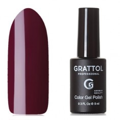Grattol, Гель-лак Classic Collection №101, Maroon