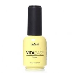 ruNail, База с лимоном VitaBase Lemon, 15 мл