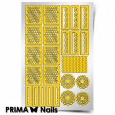 Prima Nails, Трафареты «Кружева»