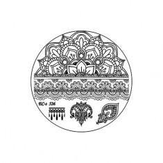 El Corazon, диск для стемпинга № EC-s 526