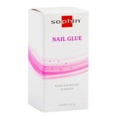 Sophin, Клей для ногтей и типсов, 3 мл