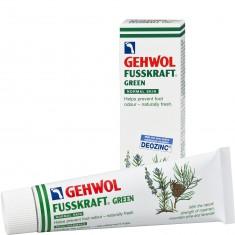 Gehwol, fusskraft green, зеленый бальзам, 75 мл