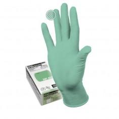 перчатки manual np-409 s neoprene неопреновые неопудренные гипоаллергенные светло-зеленый Одноразовая продукция для салонов красоты