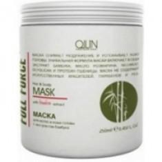 Ollin Professional Full Force Hair&Scalp Mask With Bamboo Extract - Маска для волос и кожи головы с бамбуком, 250 мл. Ollin Professional (Россия)