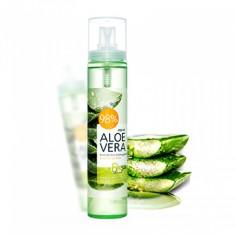 мист для кожи успокаивающий welcos aloevera moisture real soothing gel mist