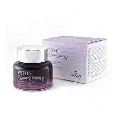 стягивающий поры осветляющий крем the skin house white tightening cream