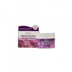 крем для лица питательный с экстрактом жемчуга deoproce moisture brightening pearl cream