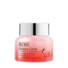 питательный крем для лица с экстрактом розы the skin house rose heaven cream