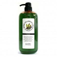 шампунь для поврежденных волос junlove natural herb shampoo