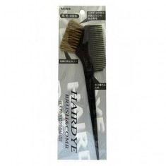 гребень c щеткой для окрашивания волос vess hairdye brush and comb