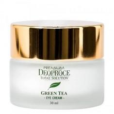 крем для век увлажняющий с экстрактом зеленого чая deoproce premium greentea total solution eye cream