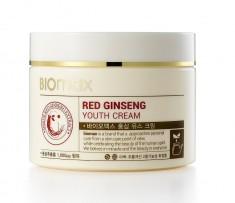 крем для с экстрактом красного женьшеня biomax red ginseng youth cream