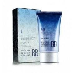 бб-крем минеральный welcos lotus moisture  solution mineral bb cream spf30 pa++
