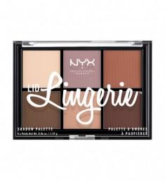 NYX PROFESSIONAL MAKEUP Палетка теней Lid Lingerie Shadow Palette 01