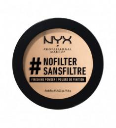 NYX PROFESSIONAL MAKEUP Финишная пудра #nofilter Finishing Powder Medium Olive 07