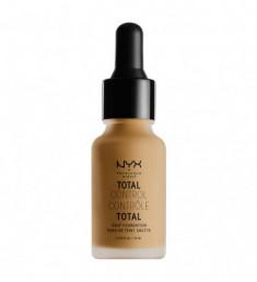 NYX PROFESSIONAL MAKEUP Тональная основа Total Control Drop Foundation - Caramel 15
