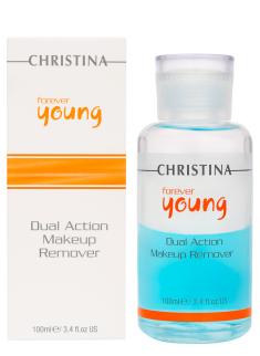 Forever Young Dual Action Make Up Remover Christina Cosmetics