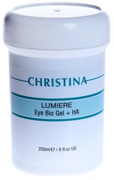 CHRISTINA Гель для кожи век и шеи, с комплексом дерма-витаминов и гиалуроновой кислотой /Eye&Neck Bio Gel 250 мл