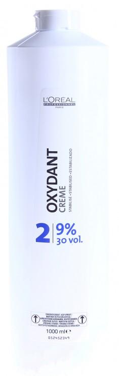 L'OREAL PROFESSIONNEL Оксидент-крем 9% (30vol) / OXYDANTS 1000 мл LOREAL PROFESSIONNEL