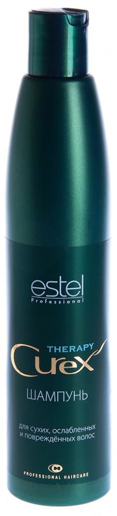 ESTEL PROFESSIONAL Шампунь для сухих, ослабленных и поврежденных волос / Curex Therapy 300 мл