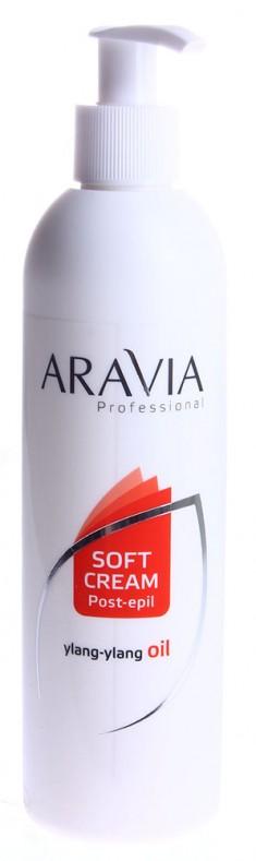 ARAVIA Сливки с маслом иланг-иланг для восстановления рН кожи (флакон с дозатором) 300 мл