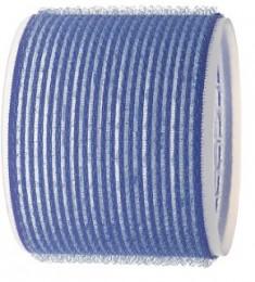 SIBEL Бигуди-липучки синие 80 мм 3 шт/уп