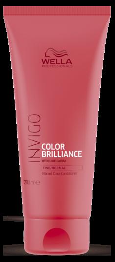 WELLA PROFESSIONALS Бальзам-уход для защиты цвета окрашенных нормальных и тонких волос / Brilliance 200 мл