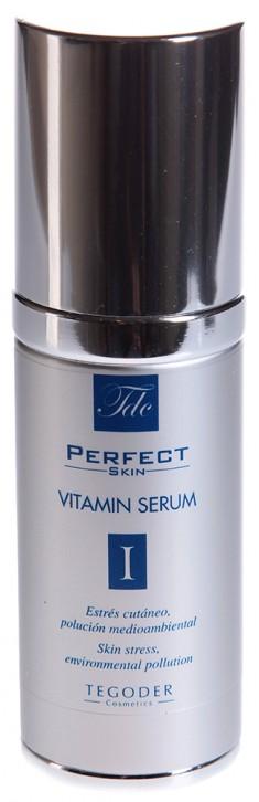 TEGOR Крем-эмульсия с витаминами для сухой и чувствительной кожи / PERFEKT SKIN 30 мл