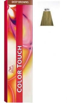 WELLA PROFESSIONALS 8/71 краска для волос, дымчатая норка / Color Touch 60 мл