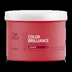 WELLA PROFESSIONALS Маска-уход для защиты цвета окрашенных жестких волос / Brilliance 500 мл