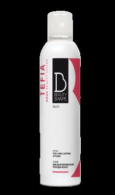 TEFIA Спрей для долговременной укладки волос / Beauty Shape Tech 250 мл