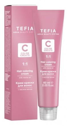 TEFIA 7.00 краска для волос, блондин интенсивный / Color Creats 60 мл