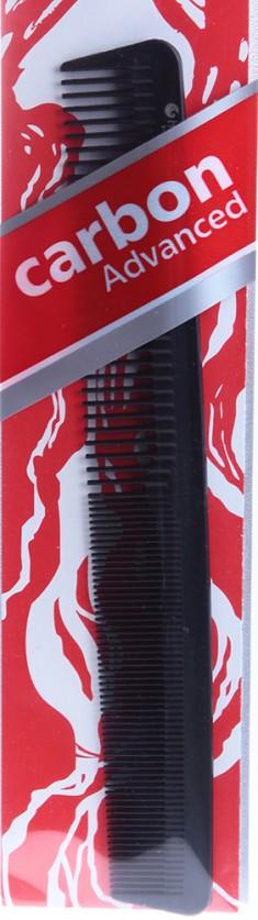 HAIRWAY Расческа Carbon Advance комбинированная 180 мм