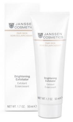 JANSSEN COSMETICS Пилинг-крем для выравнивания цвета лица / Brightening Exfoliator FAIR SKIN 50 мл