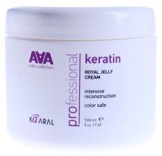 KAARAL Крем-маска питательная для восстановления окрашенных волос / AAA KERATIN COLOR CARE 500 мл