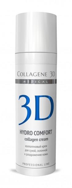MEDICAL COLLAGENE 3D Крем с коллагеном и аллантоином для лица / Hydro Comfort 30 мл