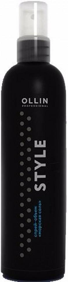 OLLIN PROFESSIONAL Спрей-объем для волос Морская соль / OLLIN STYLE 250 мл