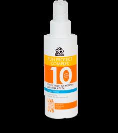 SOLBIANCA Молочко солнцезащитное водостойкое для лица и тела SPF 10 150 мл
