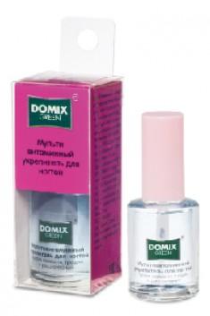 DOMIX Укрепитель мультивитаминный для ногтей / DG 11 мл