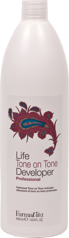 FARMAVITA Крем-окислитель тон в тон 1,5% / Tone on Tone Cream Developer 1000 мл