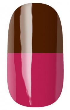RUNAIL 2956 гель-лак термо, коричневый - темно-розовый / Thermo 7 мл