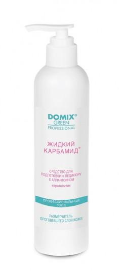 DOMIX Средство-кератолитик с аллантоином для подготовки к педикюру Жидкий карбамид / DGP 250 мл