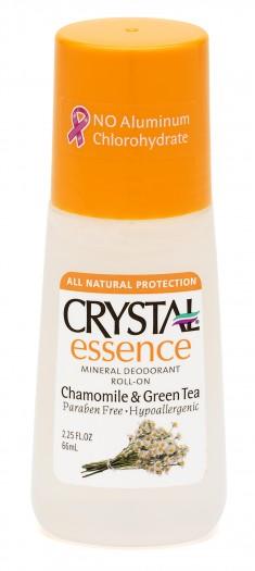 CRYSTAL Дезoдорант роликовый, ромашка и зеленый чай / Crystal ROLL-on Chamomile & Green Tea 66 мл