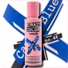CRAZY COLOR Краска для волос, сине-голубой / Crazy Color Capri Blue 100 мл