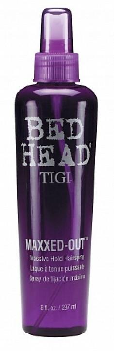 TIGI Спрей для сильной фиксации и блеска волос / BED HEAD Maxxed Out 236 мл