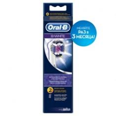 ORAL-B Насадки для электрических зубных щеток 3D White EB18 отбеливающие 2 шт.