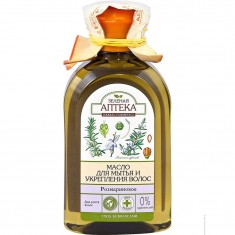 Зеленая аптека масло Розмарина для мытья для укрепления волос 250 мл ЗЕЛЕНАЯ АПТЕКА