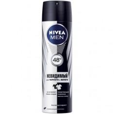Нивея дезодорант спрей д/мужчин невидимая защита пур д/черного и белого 150мл (82241) NIVEA