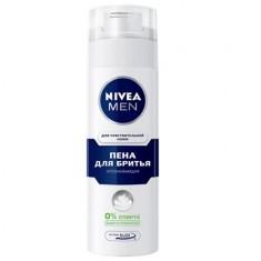 Нивея для мужчин пена для бритья для чувствительной кожи 200мл (81720) NIVEA