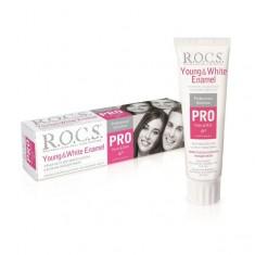 Рокс зубная паста PRO Young & White Enamel Для блеска и белизны молодой эмали 135г ROCS